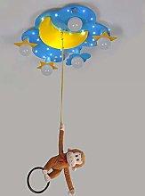 LXD Ceiling Lights,PVC Warm Personality Cartoon