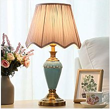 LXD Desk Lamp,Table Lamp Bedroom Simple and Warm
