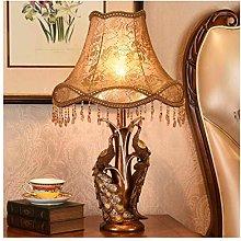 LXD Desk Lamp,Table Lamp Retro Table Lamp Bedside