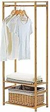 LXD Hangers,Coat Racks Rectangular Wood Hanging