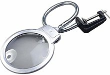 LXD Magnifying Glasses,Desk Magnifying Glass with