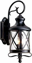 LXD Retro Nostalgic Creative Outdoor Wall Lamp