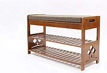 LXD Shoe Storage Rack Wooden Bench Versatile with