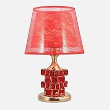 LXD Table Lamps,Desk Lamp European Crystal Table