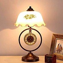 LXD Table Lamps,European Classical Glass Desk
