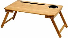 LXD Tables,Bamboo Folding Laptop Desk Bed with