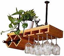 LXD Wine Racks,Nordic Wood Wine Cabinet,Ceiling