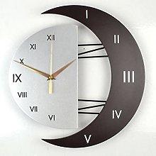 LXDZXY 3D Metal Wall Clock Modern Design Home