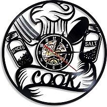 LXDZXY Cutlery Wall Clock Modern Design Spoon Fork