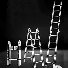 LXDZXY Ladders,Portable Telescopic Ladder