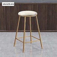 LXDZXY Stools,Bar Stool Soft Upholstered Barstool
