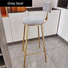 LXDZXY Stools,Bar Stool Soft Upholstered Barstools