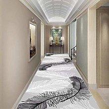 LXESWM Hallway Hall Runner Narrow Rugs Modern