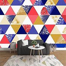 LXiFound Photo Wallpaper -Color Triangle Stitching