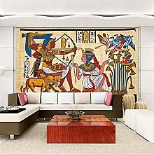 LXiFound Photo Wallpaper -Egypt Tribe Color Animal