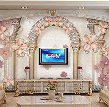 LXiFound Photo Wallpaper -Flower Decoration