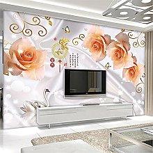 LXiFound Photo Wallpaper -Flower Kanji swan Plant
