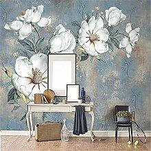 LXiFound Photo Wallpaper -Flower Plant Art Oil