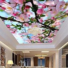 LXiFound Photo Wallpaper -Flower Plant Butterfly