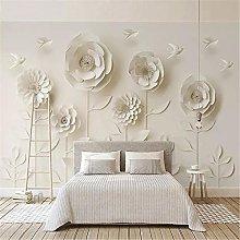LXiFound Photo Wallpaper -Flower Simplicity Art