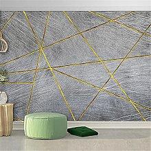 LXiFound Photo Wallpaper -Gray Simple Art Classic