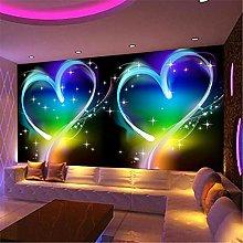 LXiFound Photo Wallpaper -Love Color Streamer