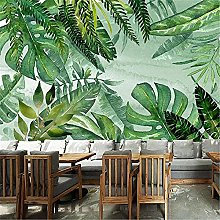 LXiFound Photo Wallpaper -Nordic Green Simple
