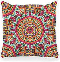 LXJ-CQ Throw Pillow Cover 18x18 Abstract Tribal
