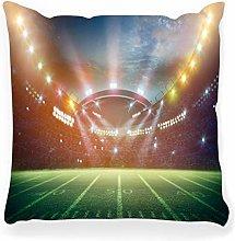 LXJ-CQ Throw Pillow Cover 18x18 American Soccer