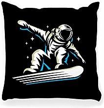 LXJ-CQ Throw Pillow Cover 18x18 Astronaut