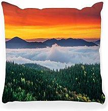 LXJ-CQ Throw Pillow Cover 18x18 Autumn Landscape