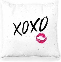 LXJ-CQ Throw Pillow Cover 18x18 Brush Lettering