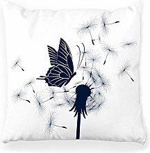 LXJ-CQ Throw Pillow Cover 18x18 Butterfly