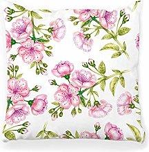 LXJ-CQ Throw Pillow Cover 18x18 Cherry Floral