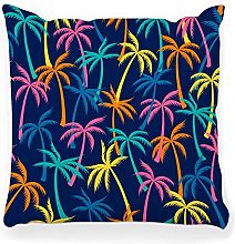 LXJ-CQ Throw Pillow Cover 18x18 Coconut Palm Tree