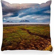 LXJ-CQ Throw Pillow Cover 18x18 Dramatic View