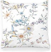 LXJ-CQ Throw Pillow Cover 18x18 Flower Art Cute