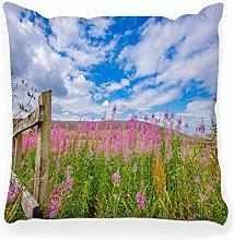 LXJ-CQ Throw Pillow Cover 18x18 Landscape British