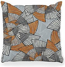 LXJ-CQ Throw Pillow Cover 18x18 Striped Drawn with