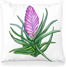 LXJ-CQ Throw Pillow Cover 18x18 Tropical Pink
