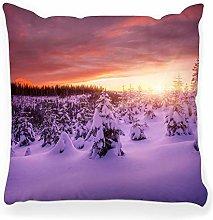 LXJ-CQ Throw Pillow Cover 18x18 View Mountain