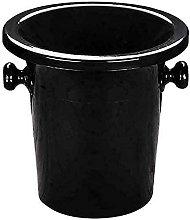 LXNQG Drying rack Large Ice Buckets,Black