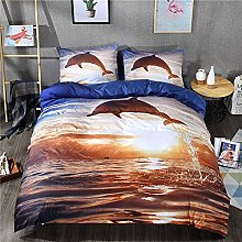 LXSMGS Bed Linen Set 3D Animal Premium Duvet Cover