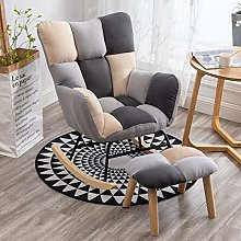 lxwi Armchair Rocking Chair Recliner Balcony