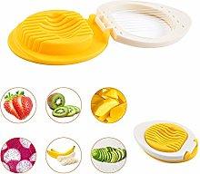 LxwSin Egg Slicer Cutter, Strawberry Slicer,2 Pcs