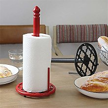 LXY Paper Towel Holder Rustic Cast Iron Paper