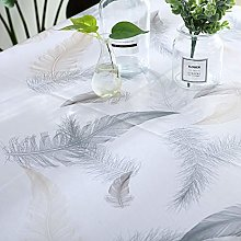 LXZCVZV Heavy Weight Vinyl Tablecloth For