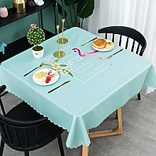 LXZCVZV Internet Celebrities Vinyl Tablecloth For