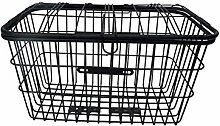 LYATW Bike Basket Rust-Proof Large Rear Wire Rack