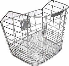 LYATW Rear Bike Basket Wire Mesh Front Bag Rear